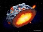 На металевих астероїдах можливо вивергалися залізні вулкани
