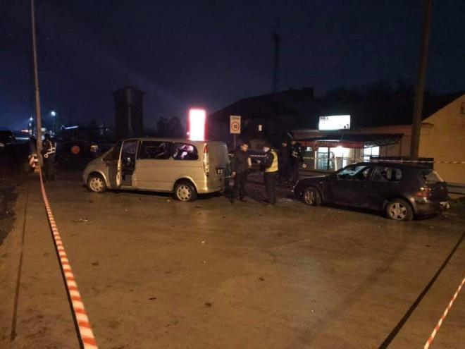 На очах поліції стріляли в активістів на пункті вагового контролю під Одесою - фото