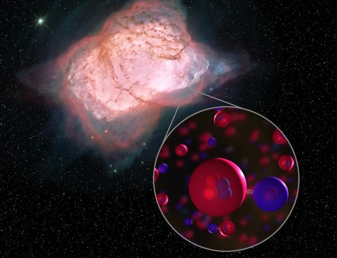 Нарешті знайдено перший тип молекули у Всесвіті - фото