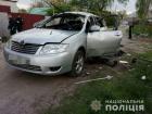В автомобіль з водієм закинули гранату у Харкові