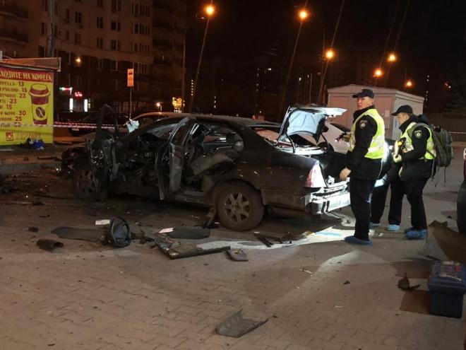 В Києві диверсант підірвався, встановлюючи вибухівку на співробітника спецслужби - фото