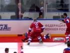 Путін зганьбився на показушному хокейному матчі