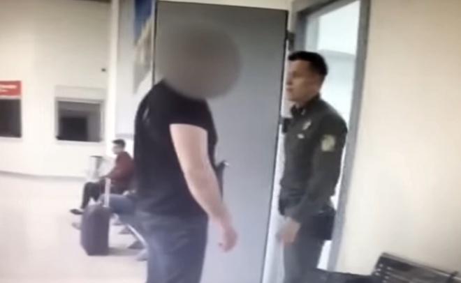 Росіянин влаштував дебош в київському аеропорту - фото