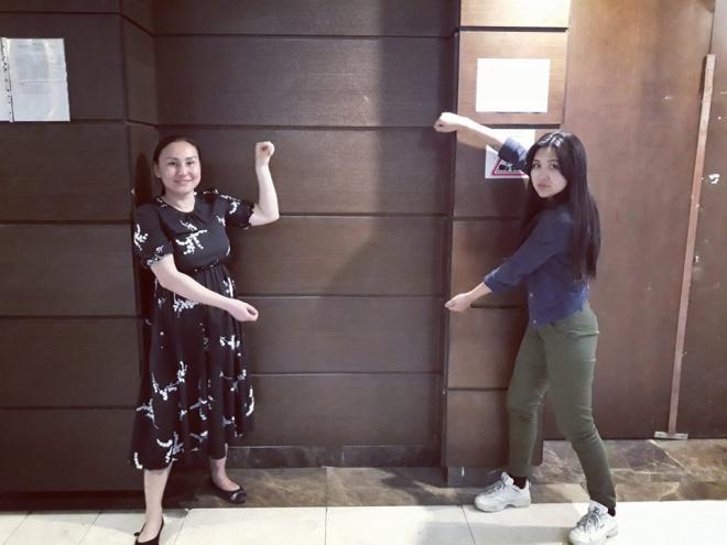 За уявний плакат в Казахстані затримали активістку - фото
