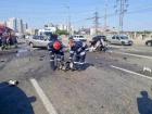 В Києві від зіткнення розірвало легковик, що виїхав на зустрічну смугу - четверо загиблих