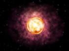 Повна анігіляція незвичної надмасивної зірки