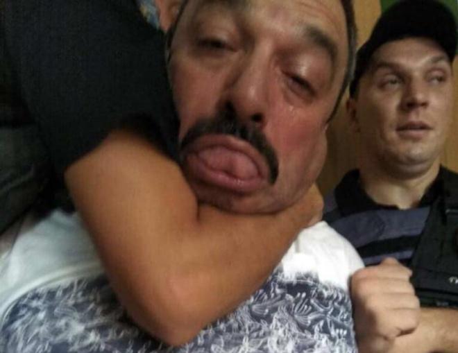 В Дніпрі п′яний майор поліції скоїв ДТП і намагався втекти - фото