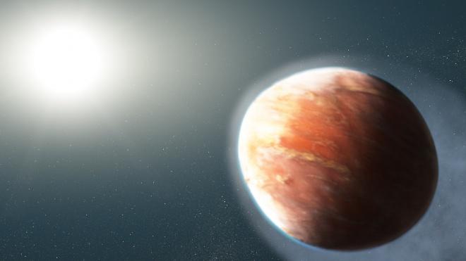 Виявлено екзопланету з такою неймовірно температурою поверхні, що вона випаровує залізо - фото
