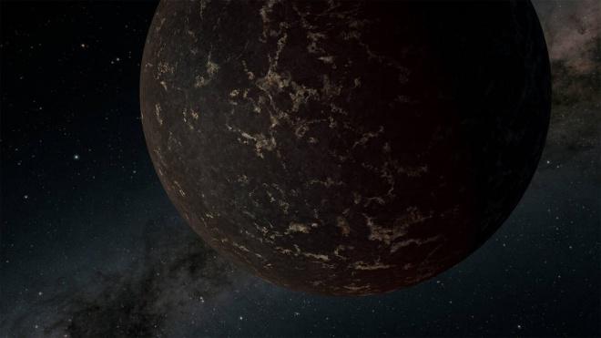 За допомогою Спітцера досліджено поверхню недалекої екзопланети - фото