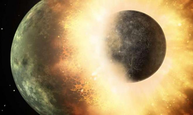 Зіткнення планет може спустити в планетах внутрішній тиск - фото