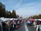В Києві тривають «сезонні» продуктові ярмарки