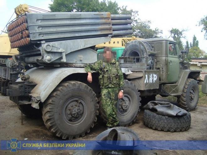 """На лінії розмежування затримано екс-бойовика терористів """"ЛНР"""" - фото"""