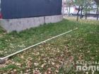 Під Києвом п'яний росіянин повалив флагшток з прапором ОУН