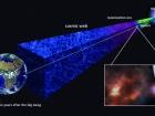 Стародавня газова хмара вказує, що перші зірки повинні були утворюватися дуже швидко після Великого вибуху