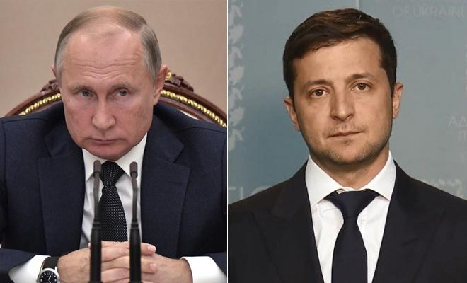 Зеленський обговорив з Путіним вкрадене на кораблях майно та газ - фото