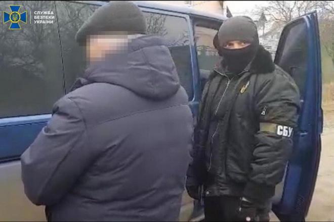 СБУ затримала бойовика «ЛНР», який збирав інформацію про залізничні колії, метрополітен Харкова - фото
