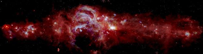 В НАСА показали новий вигляд центру нашої галактики - фото