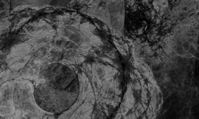 Вимірювання температури темної матерії - фото