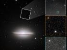 Галактика Сомбреро, можливо, приховує бурхливе минуле