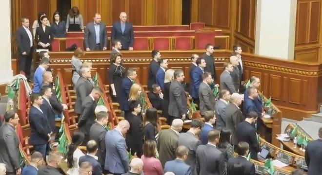 Нардеп Бужанський демонстративно не захотів вшановувати Героїв Небесної сотні - фото
