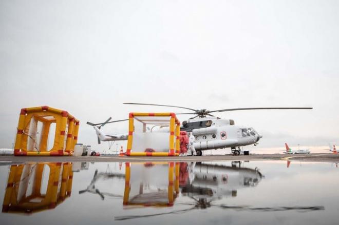 В Україні з'явився вертоліт для транспортування хворих на коронавірус - фото
