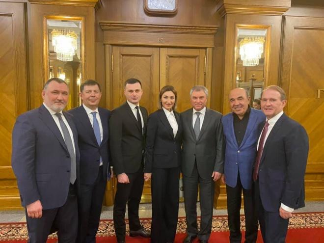 Члени ОПЗЖ відвідали Держдуму РФ - фото