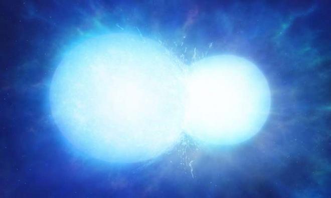 Дві зорі злилися в масивний білий карлик - фото