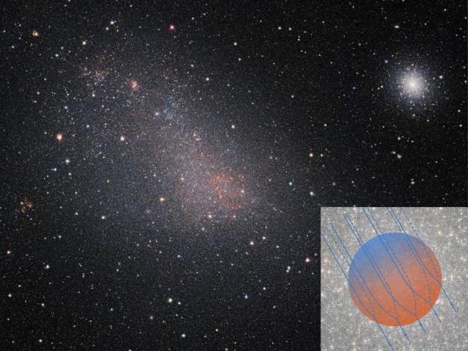 Глобулярне скупчення, що блукає у галактичному вітрі - фото