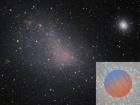 Глобулярне скупчення, що блукає у галактичному вітрі