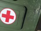 Окупанти скинули гранати на авто з Червоним хрестом