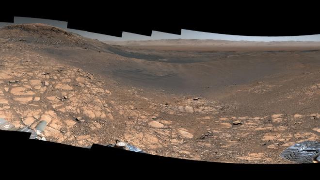 Панорамне зображення Марсу з найбільш високою роздільною здатністю - фото