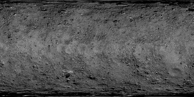 Показано безпрецедентно детальне фото астероїда Бенну - фото