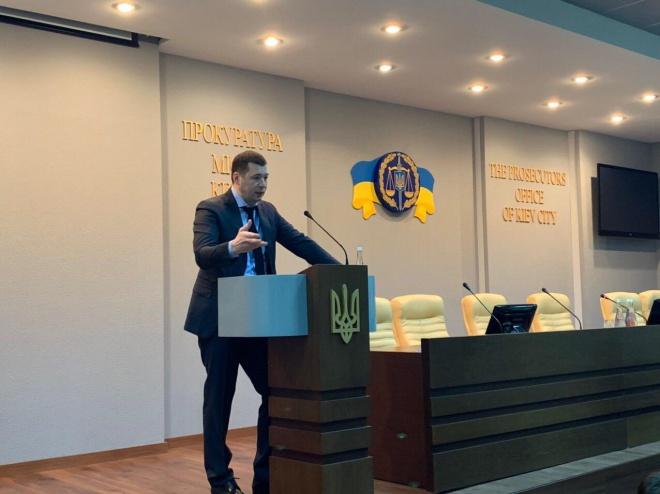 Поновлений судом люстрований екс-прокурор Києва вже на роботі - фото