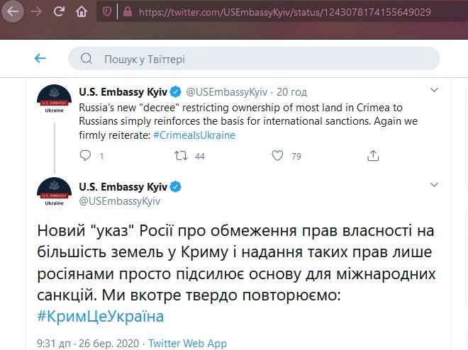 Указ Путіна щодо землі в окупованому Криму – це новий привід для санкцій - фото