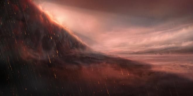 Знайдено екзопланету, де йдуть залізні дощі - фото