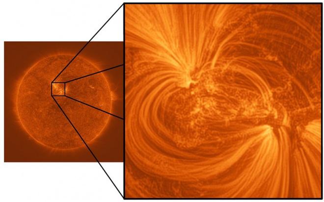Атмосфера Сонця сплетена з ниток мільйонно-градусної плазми - фото
