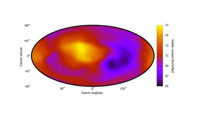 Переосмислення космології: розширення Всесвіту може бути не рівномірним - фото