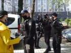 Поліція напала на журналіста перед Кабміном