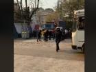 Поліція схопила людей, які поодаль знімали протести проти будівництва на Печерську