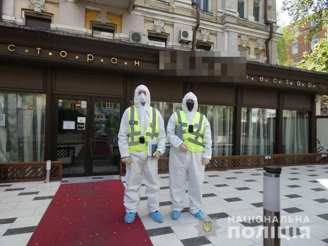 Поліція заявила, що перевірила ресторан Тищенка «Велюр» - фото