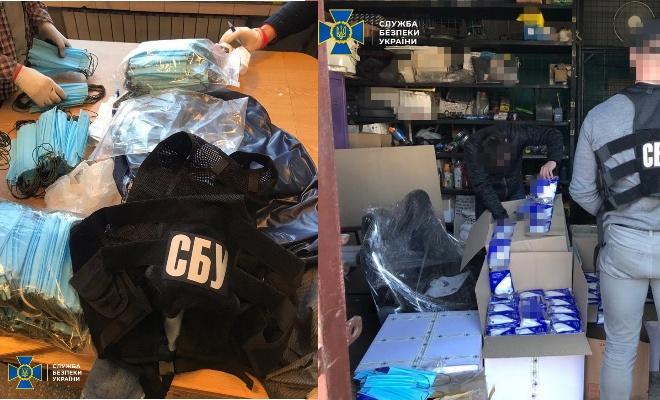 Попереджено вивезення з України чергової великої партії респіраторів - фото