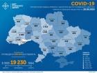 +354 випадки COVID-19 в Україні за добу