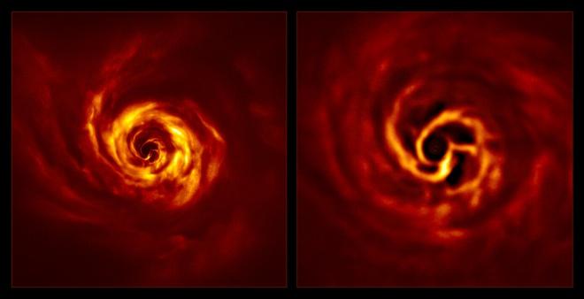 Астрономи угледіли процес народження планети - фото