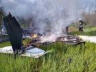 Під Дніпром розбився літак, загинули двоє