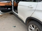 В Харкові патрульний стріляли в авто, яке на нього наїхало