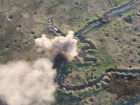 Захисники завдали удару по позиціях окупантів на Донбасі – відео
