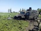 На Донеччині на міні підірвався бронеавтомобіль НГУ, багато поранених