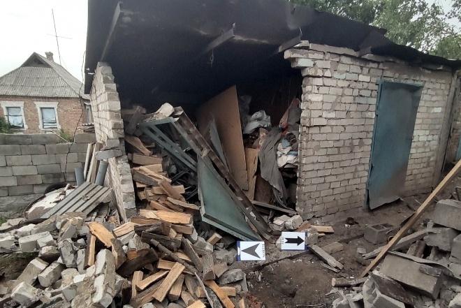 Окупанти обстріляли житлові будинки в Авдіївці - фото