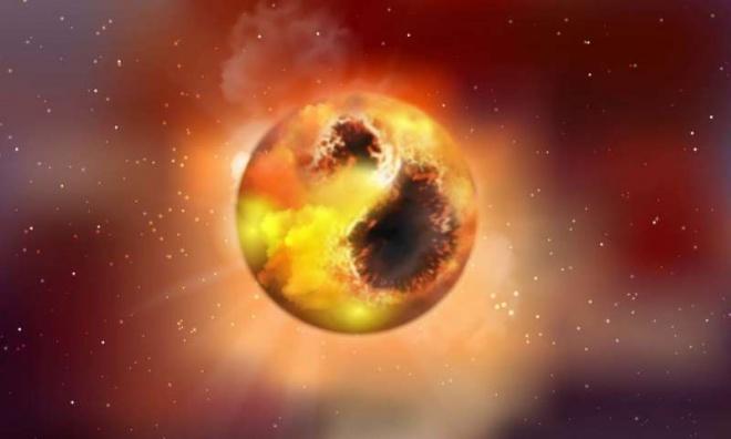 Причиною затемнення Бетельгейзе можуть бути гігантські зоряні плями - фото