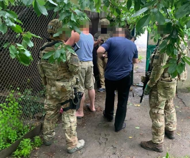 В Одесі СБУ затримала сепаратиста, який налагодив зв'язки з ОРДЛО - фото